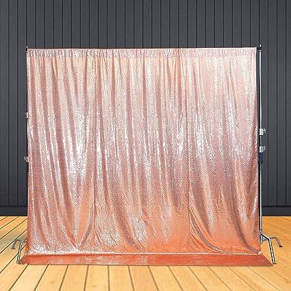 Poise3ehome Pailletten Vorhang Mit Nicht Transparenter Kamera