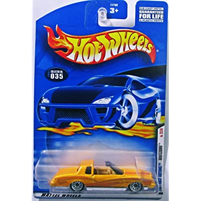 2000 - Mattel / Hot Wheels - Montezooma (Monte Carlo) - Custom Yellow - 2001 First Editions - #23 of 36 - Collector #035 - T Top - MOC - LImited Edition - Collectible: Unknown: Toys & Games