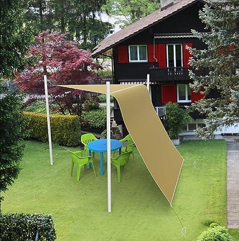 shatex toldo Creative lámpara Panel para Patio/pérgola/al aire libre sombreado 10 m de ancho marrón: Amazon.es: Bricolaje y herramientas