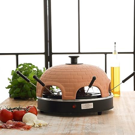 Ultratec Pizzarette, Pizzaofen Mit Metall-Backplatte - Für 6