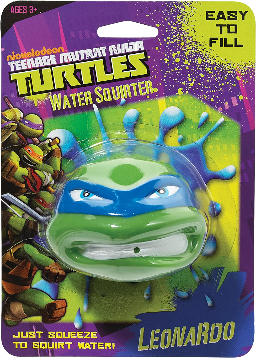 Little Kids Teenage Michelangelo Mutant Ninja Turtles Water Squirter