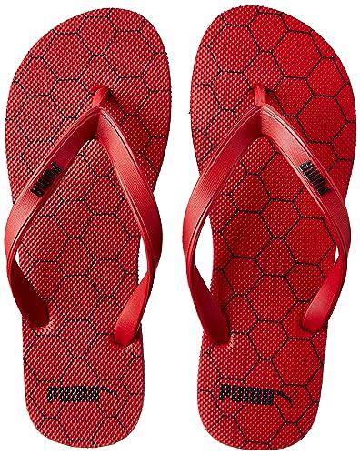 e673423844f916 Puma Unisex s High Risk Red-Peacoat Flip Flops Thong Sandals-10 UK India