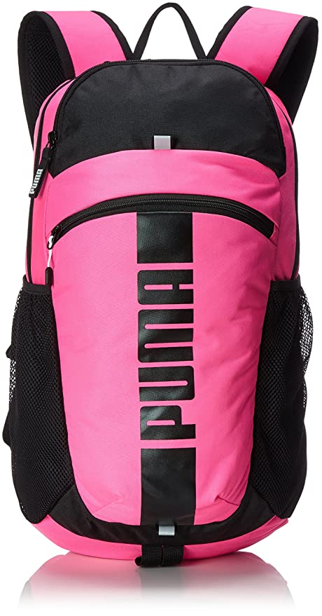 6c49e49a04d7 Puma 15 Ltrs Knockout Pink and Puma Black Laptop Bag (7440102)  Amazon.in   Bags