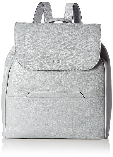 Damen Faro 4, Silver Grey, Backpack W17 Rucksack, Silber (Silver Grey), 33x12x29.5 cm Bree