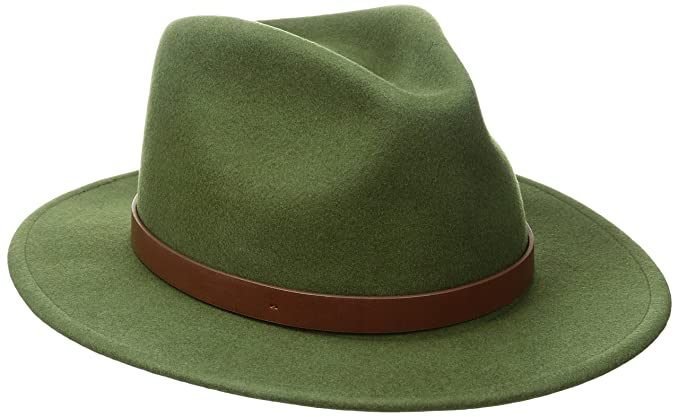 d2582f3156 Brixton Men's Messer Fedora, Cypress, XS: Amazon.ca: Clothing ...