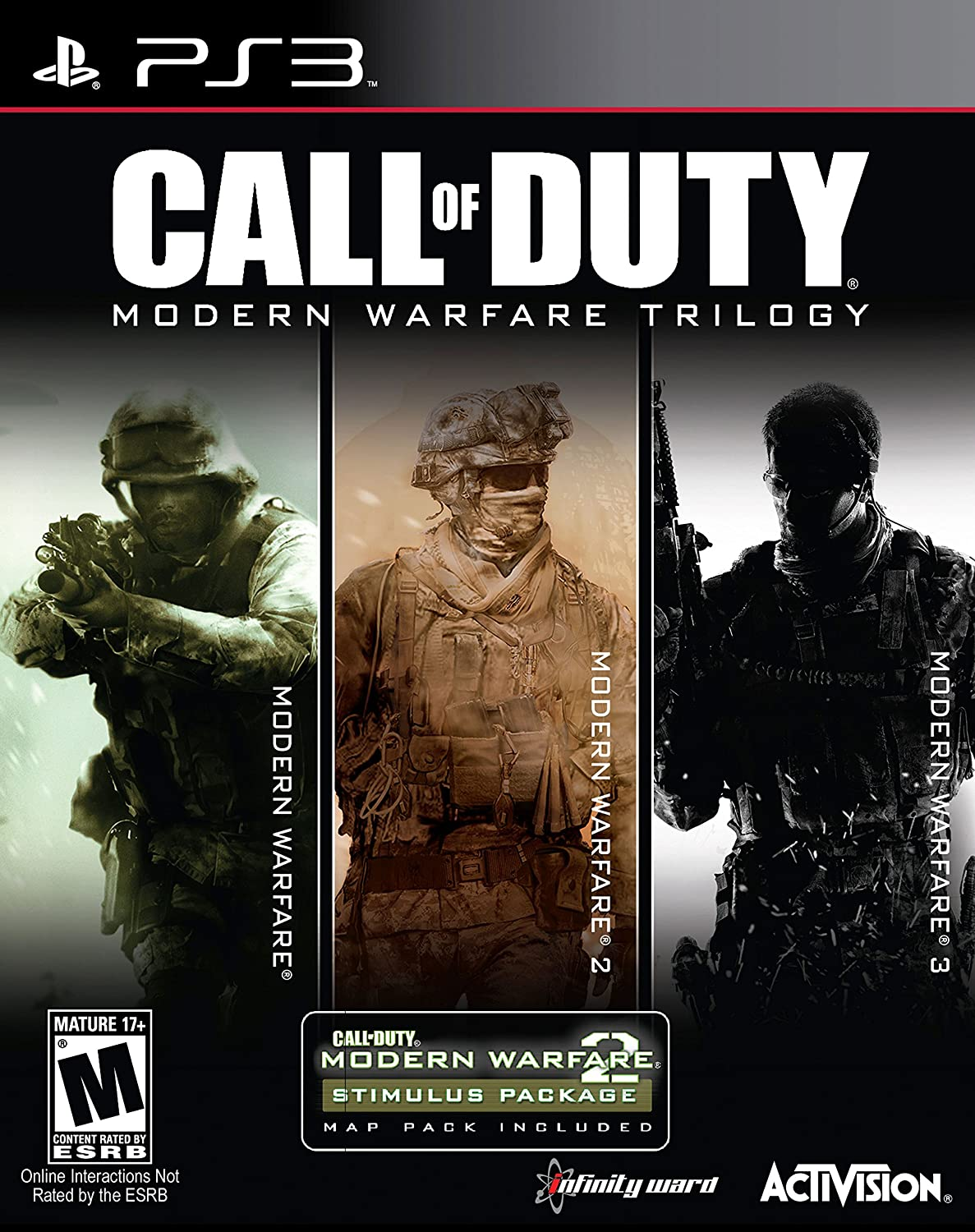 Amazon com: Call of Duty Modern Warfare Collection - PlayStation 3