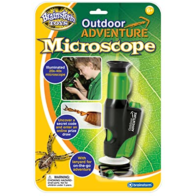 Brainstorm Toys Outdoor Adventure Microscope: Toys & Games