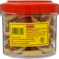 Glory Pineapple Tarts, 400g (Round Shape)