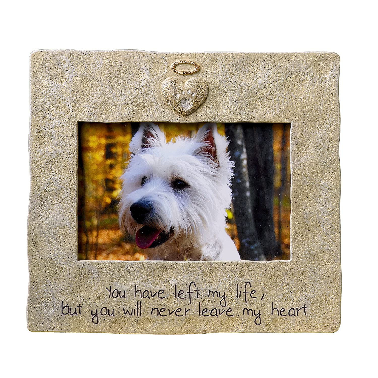 amazoncom grasslands road pet memorial picture frame 4 by 6 inch loss of pet gifts - Dog Memorial Frame