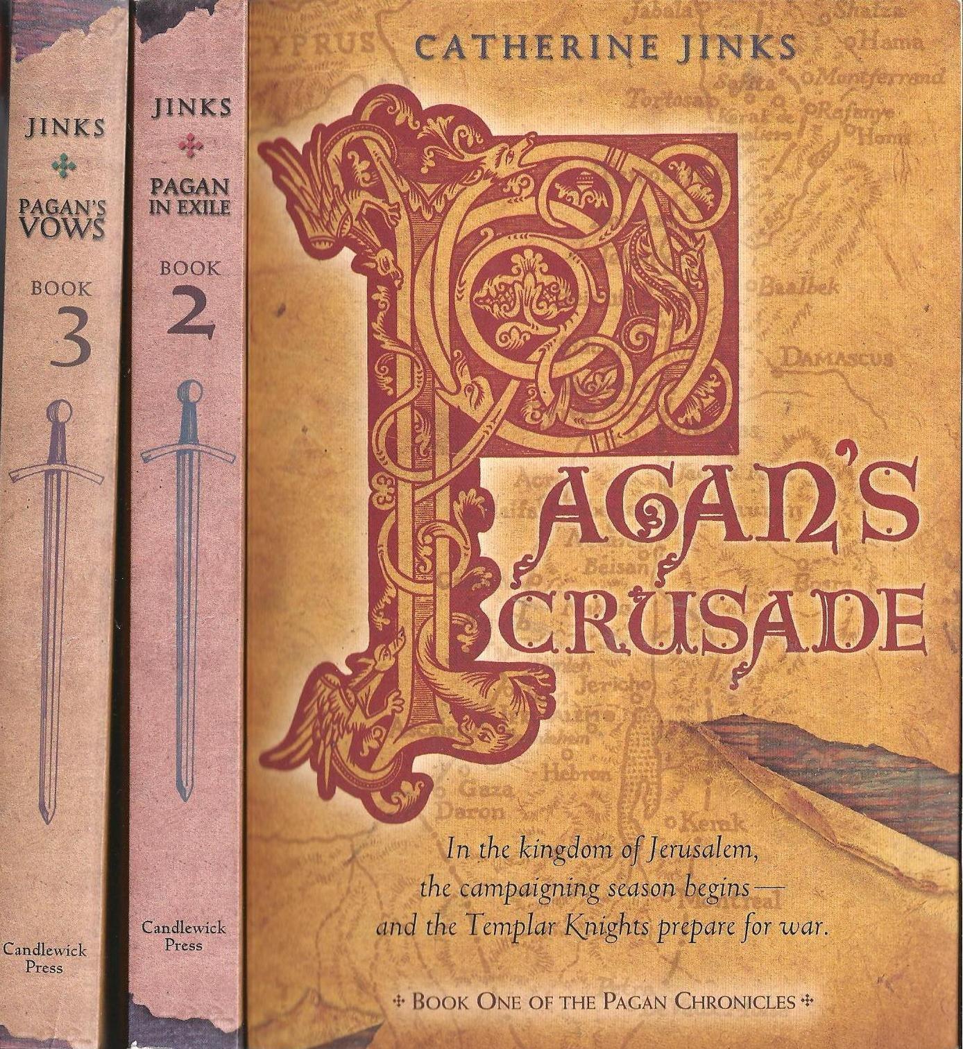The Pagan Chronicles, Books 1-3 (Pagan's Crusade/Pagan in Exile/Pagan's Vows) pdf