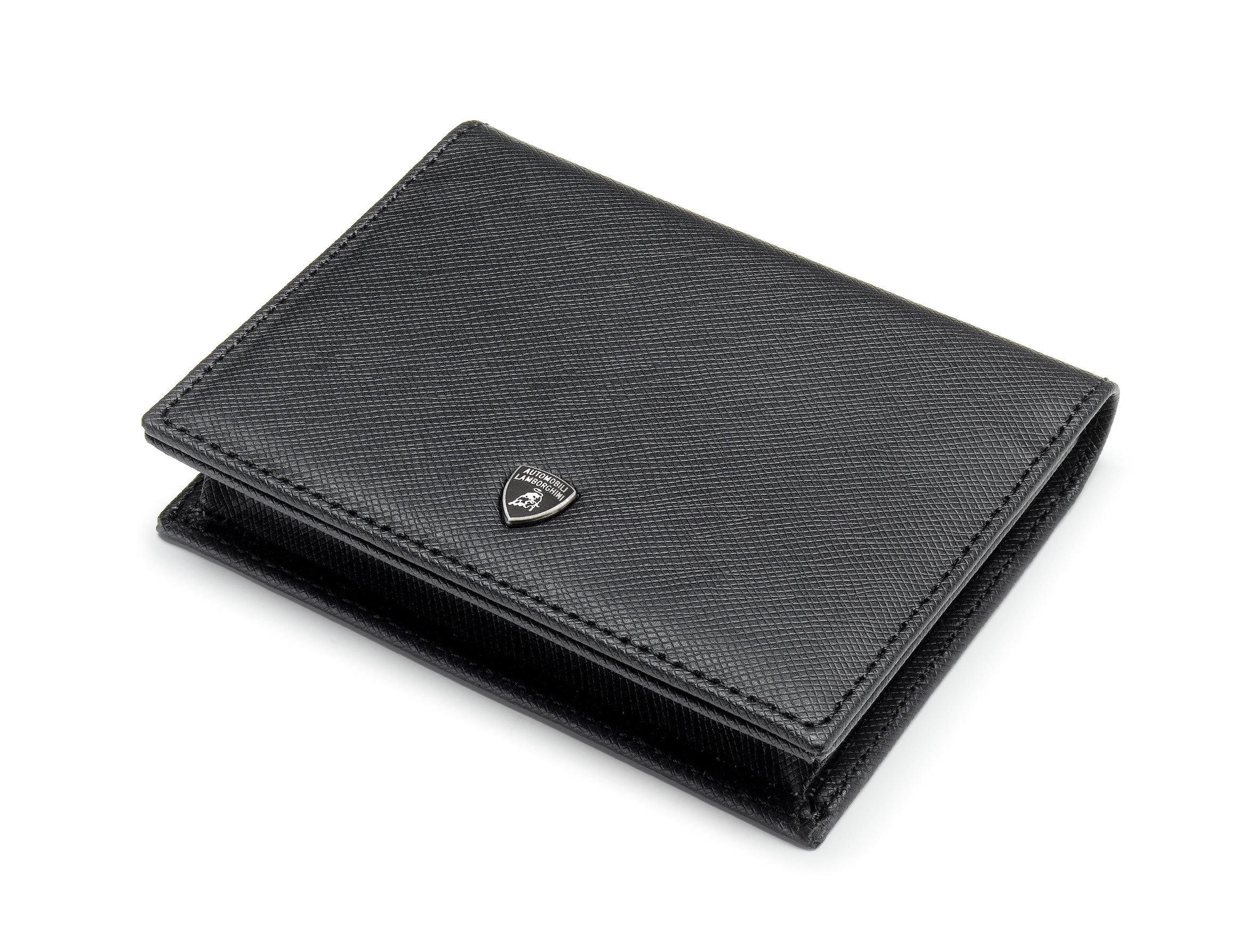 Automobili Lamborghini Accessories Classic Business Card Holder One Size Black by Automobili Lamborghini (Image #1)