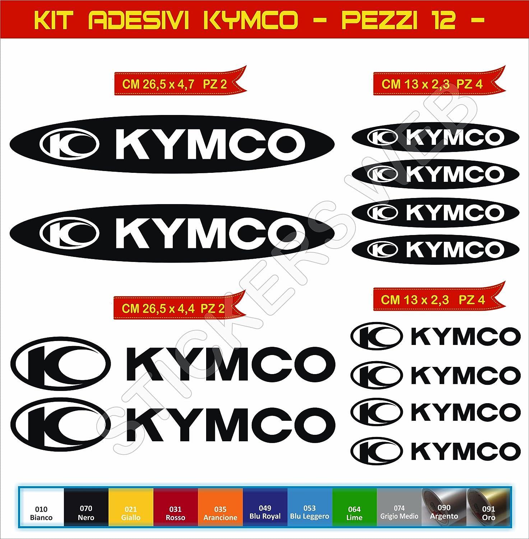 Pegatinas adhesivos KYMCO UNIVERSAL para motos motocicletas Cod