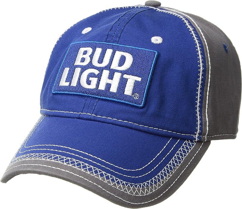 Budweiser Men s Adjustable Straw Baseball Cap with Bottle Opener ... f5dcb9f6e644