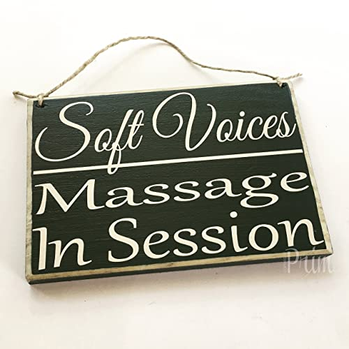 amazon com soft voices massage in session therapy spa salon 8x6