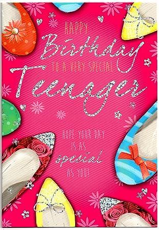 Thirteen 13 Year Old Girl Birthday Card
