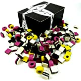Licorice Allsorts by Cuckoo Luckoo Confections, 2 lb Bag in a BlackTie Box