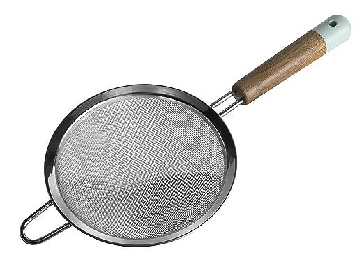 Jamie Oliver Sieb 14cm Durchmesser Küchenhelfer, Holz-Edelstahl ...