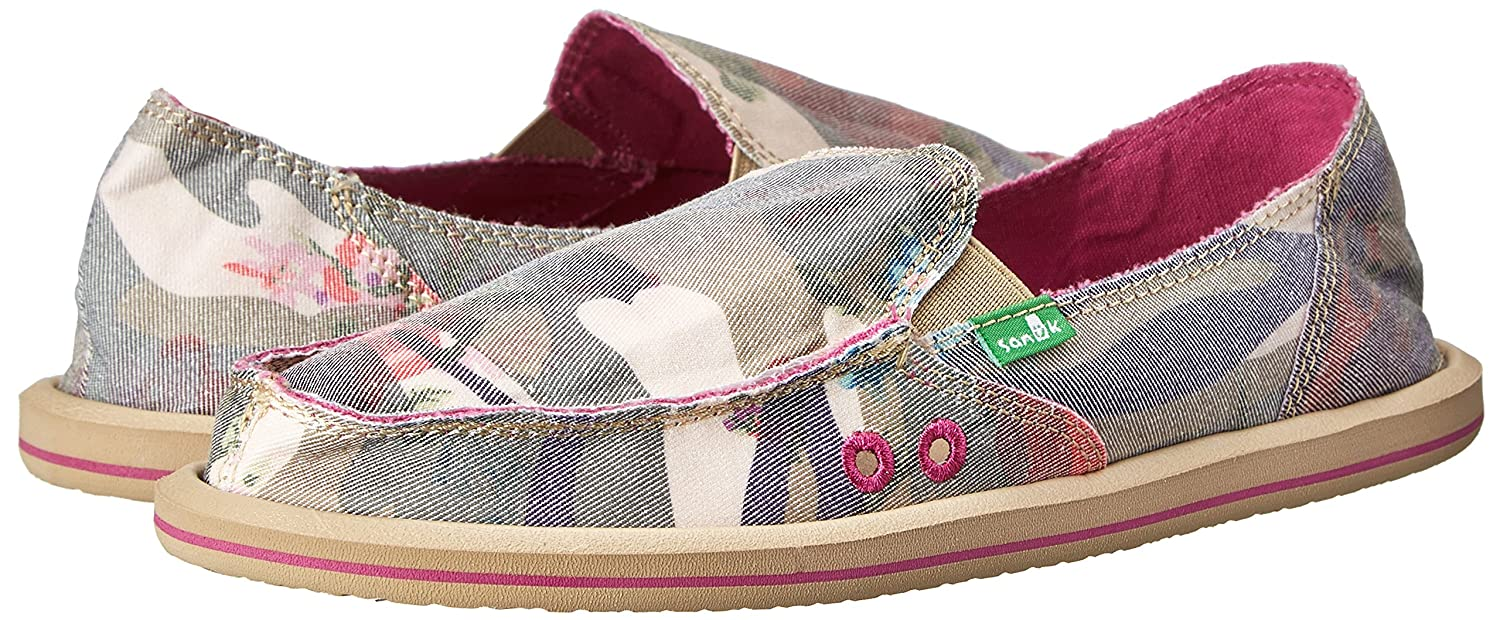Sanuk Mujer Donna Mixto hasta Mocasines.: Amazon.es: Zapatos y complementos