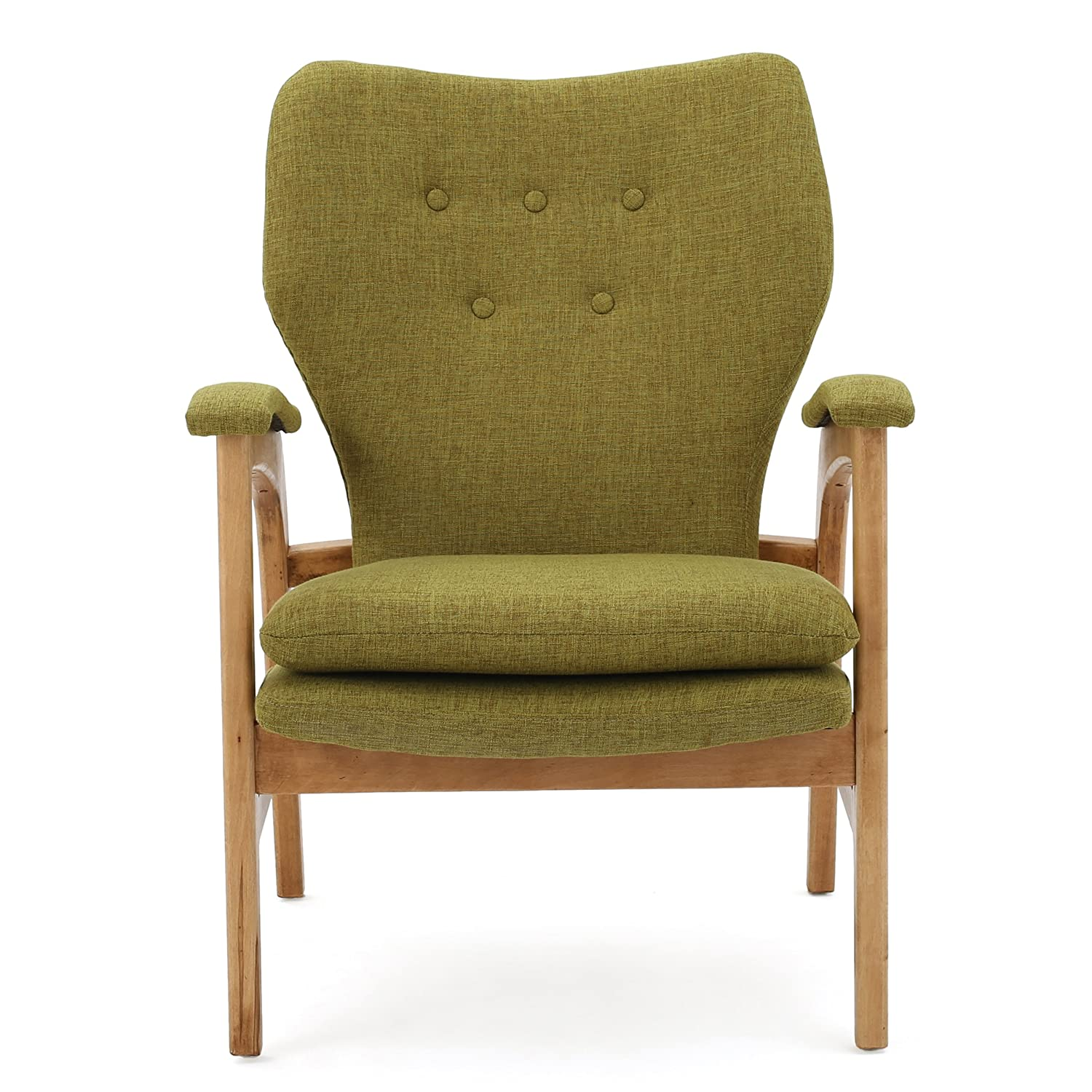 Joseph Mid Century Modern Fabric Arm Chair
