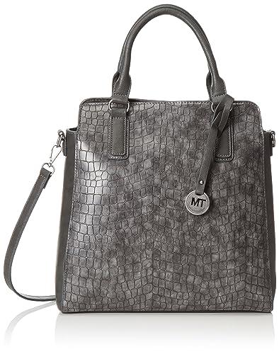 Marco Tozzi 61012, Women s Top-handle Bag, Grey (234), 33x33x14 cm ... d080b5878244