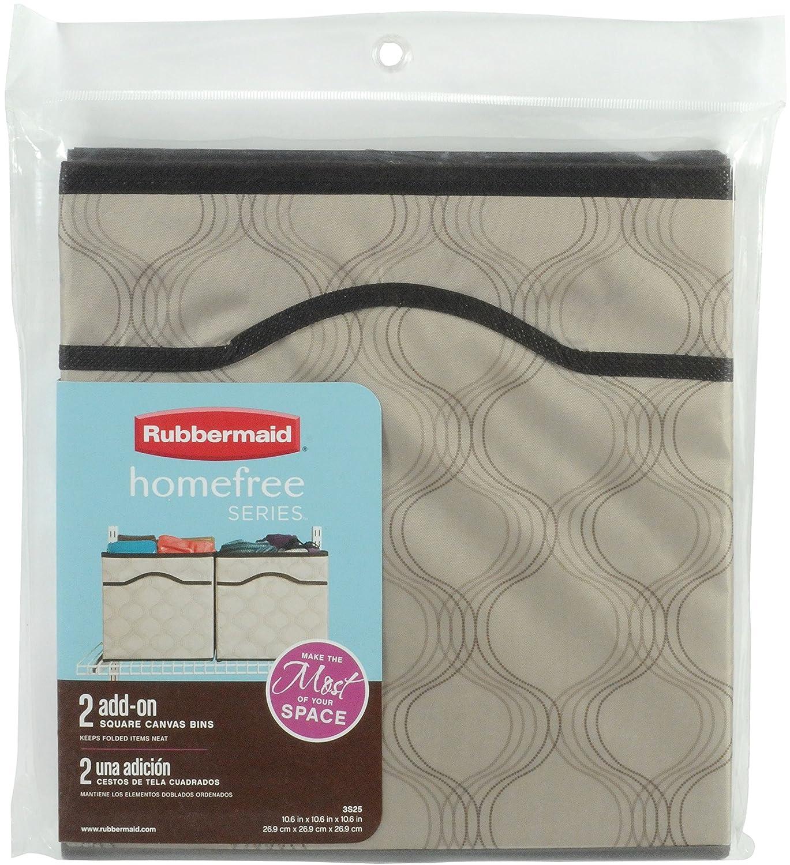 Amazon Rubbermaid Homefree Closet System Canvas Basket Medium