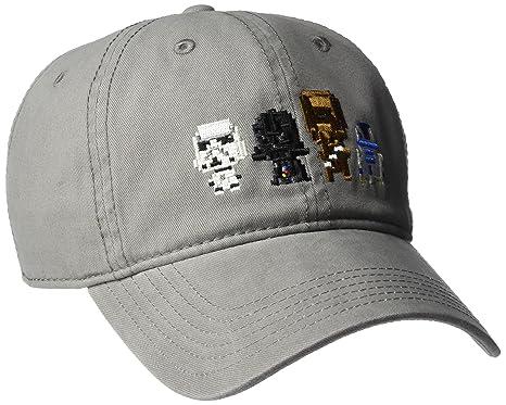 c9c08b298 Star Wars Men's Stormtrooper Embroidery Dad Baseball Cap, Black, One ...
