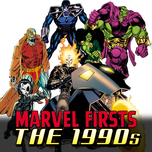 Marvel Firsts (Collections) (3 Book Series)