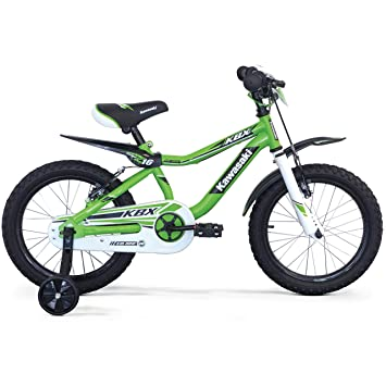 """Kawasaki KBX 16"""" Bicicleta para niño, de 5, 6, 7 y 8"""