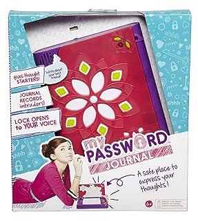 Password Journal - Diario Segreto con Lucchetto a riconoscimento vocale, incl. Penna con Inchiostro Invisibile e Lampada di Wood Mattel Mattel Italy s.r.l. CKT10