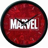 セイコー クロック 掛け時計 アナログ MARVEL ロゴ 本体サイズ:直径31.1×3.9cm マーベルコミックス FW581K SEIKO