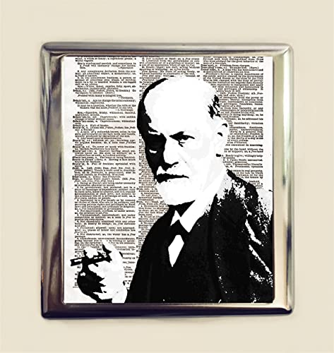 Amazon com: Sigmund Freud Cigarette Case Business Card ID Holder
