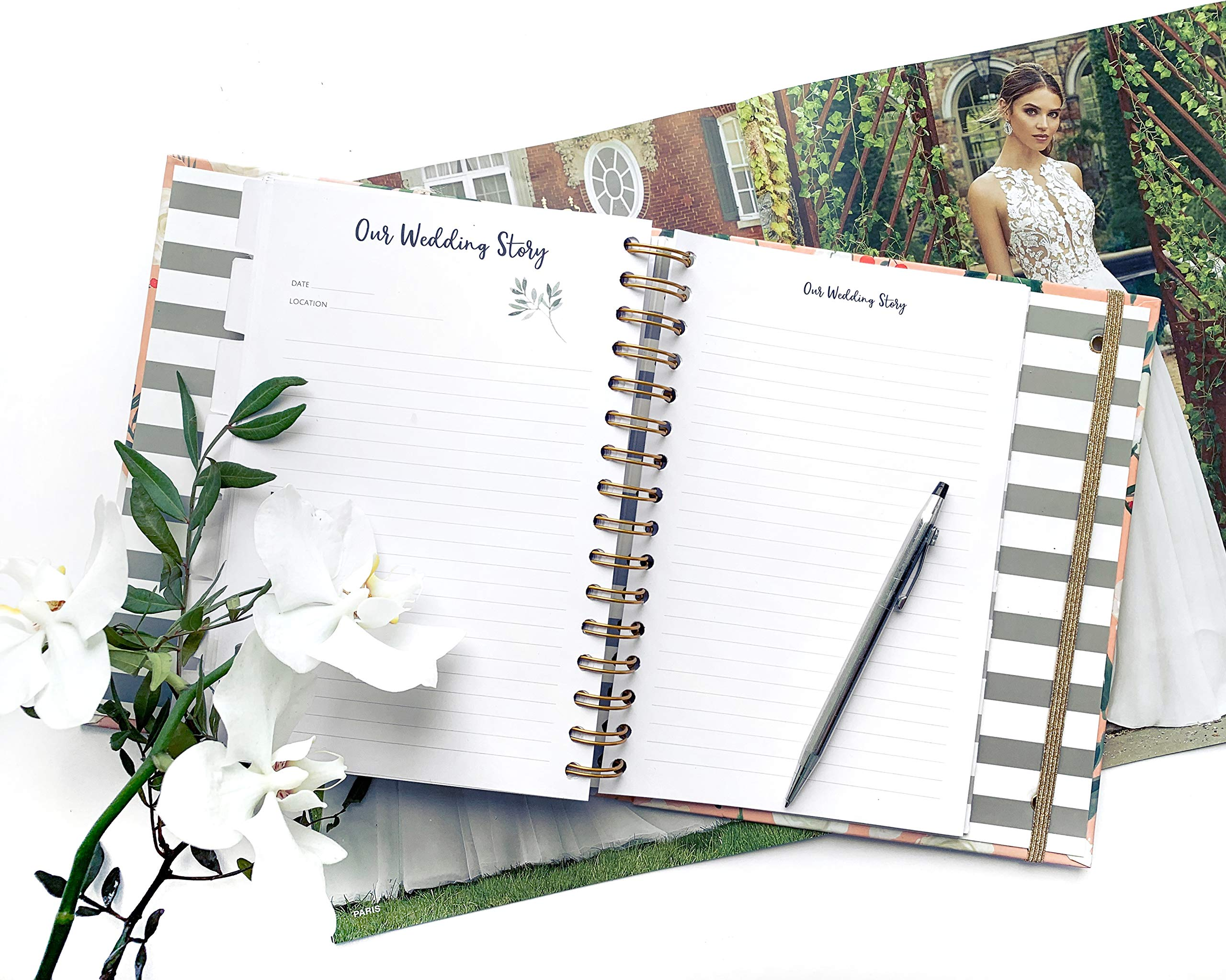 The Dream Wedding Planner | Luxury Wedding Organizer Book with Beautiful Souvenir Gift Box | Ideal Engagement Present for Couples | Perfect for Planning Your Dream Wedding by The Caledonia Design Co. (Image #7)
