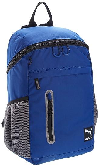 afba70d83c1 Puma Foundation Backpack, Blue/Grey: Amazon.co.uk: Sports & Outdoors