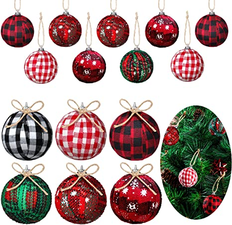 Christmas Party Snowman Ornament Snowflake Hanging Balls Bauble Tree Decoration