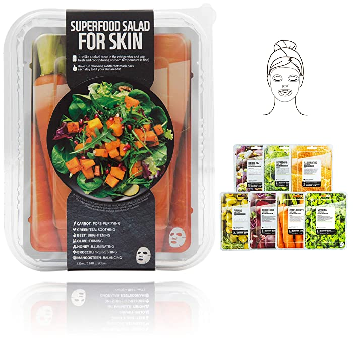 Top 10 Beauty In A Food Mask Sheet