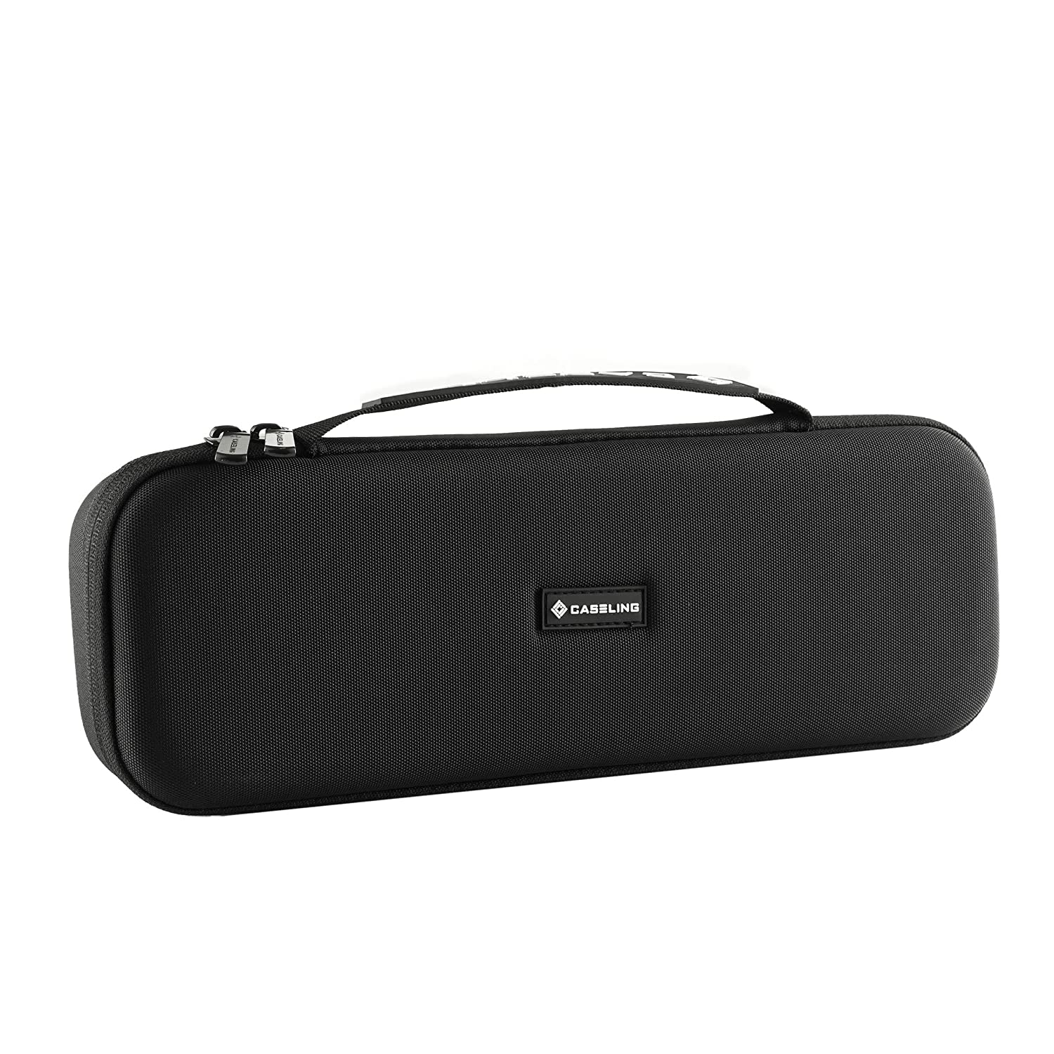 Hard CASE for Flat Iron. with mesh Pocket. by Caseling