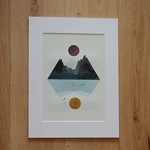 Storm u0026 calm - Geometric art geometric poster geometric print geometric wall art & Storm u0026 calm - Geometric art geometric poster geometric print ...