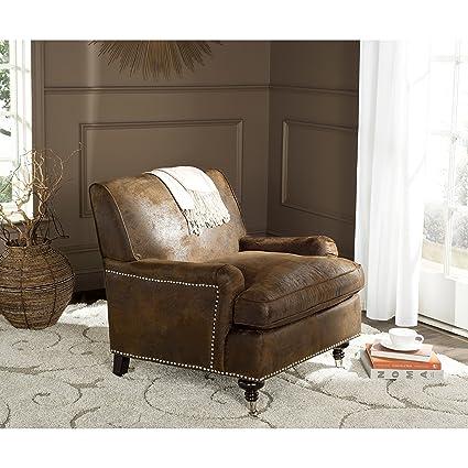 Safavieh Mercer Collection Chloe Club Chair Brown