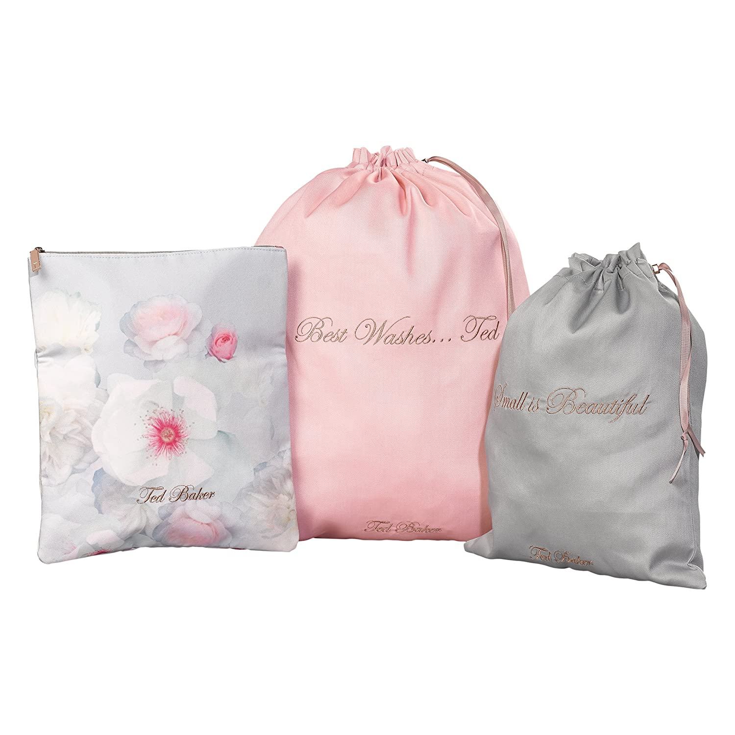 coupon code utterly stylish super specials Ted Baker Laundry Bags, (Set of 3): Amazon.in: Bags, Wallets ...