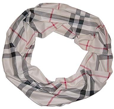 Alet Iana Luxe Femme Écharpe Rayures – Carreaux écharpe en hiver Rideau  avec rayures rond écharpe f6aa388ba31
