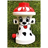 Matty's Toy Stop FIDO The FIRE Dog Hydrant Water Sprinkler for Kids, Attaches to Standard Garden Hose & Sprays Up to 10 Feet
