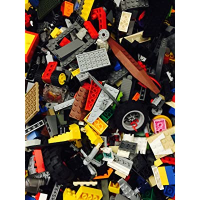 LEGO One Pound ~ Small and Medium Sized Blocks, Bricks, Misc Parts Blocks Pieces ~Random Wholesale Bulk Bricks ~ Clean ~ Quality: Toys & Games