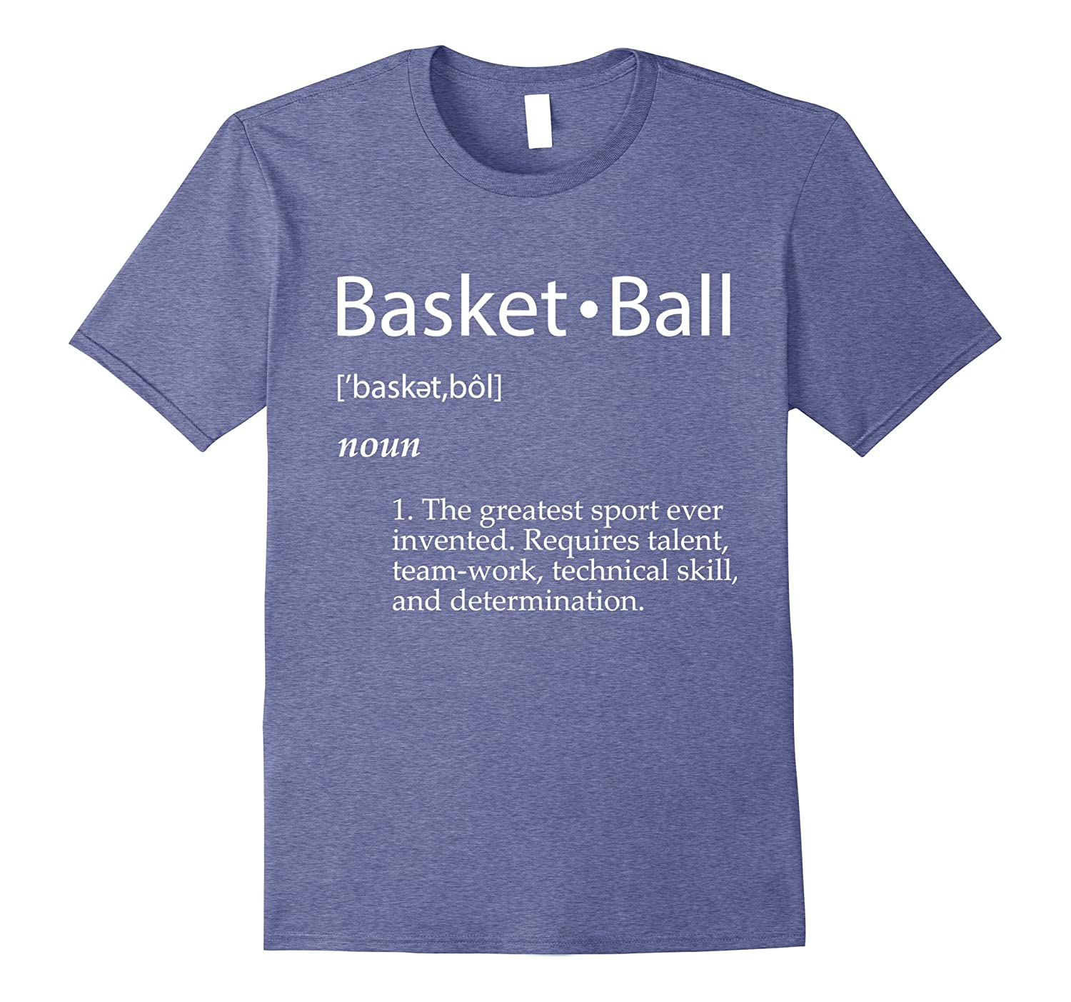 Basketball Definition T-Shirt - Men Women Youth Sizes Colors-TH
