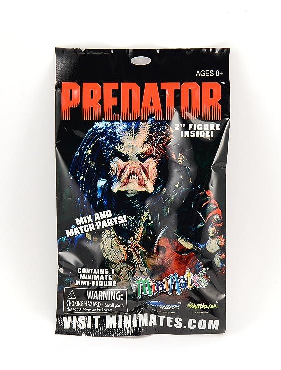 Amazon.com: Predator Minimates bolsa sorpresa contador Dump ...