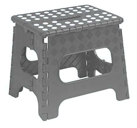 Fantastic Superior Folding Step Stool 13 Inch Grey Ocoug Best Dining Table And Chair Ideas Images Ocougorg