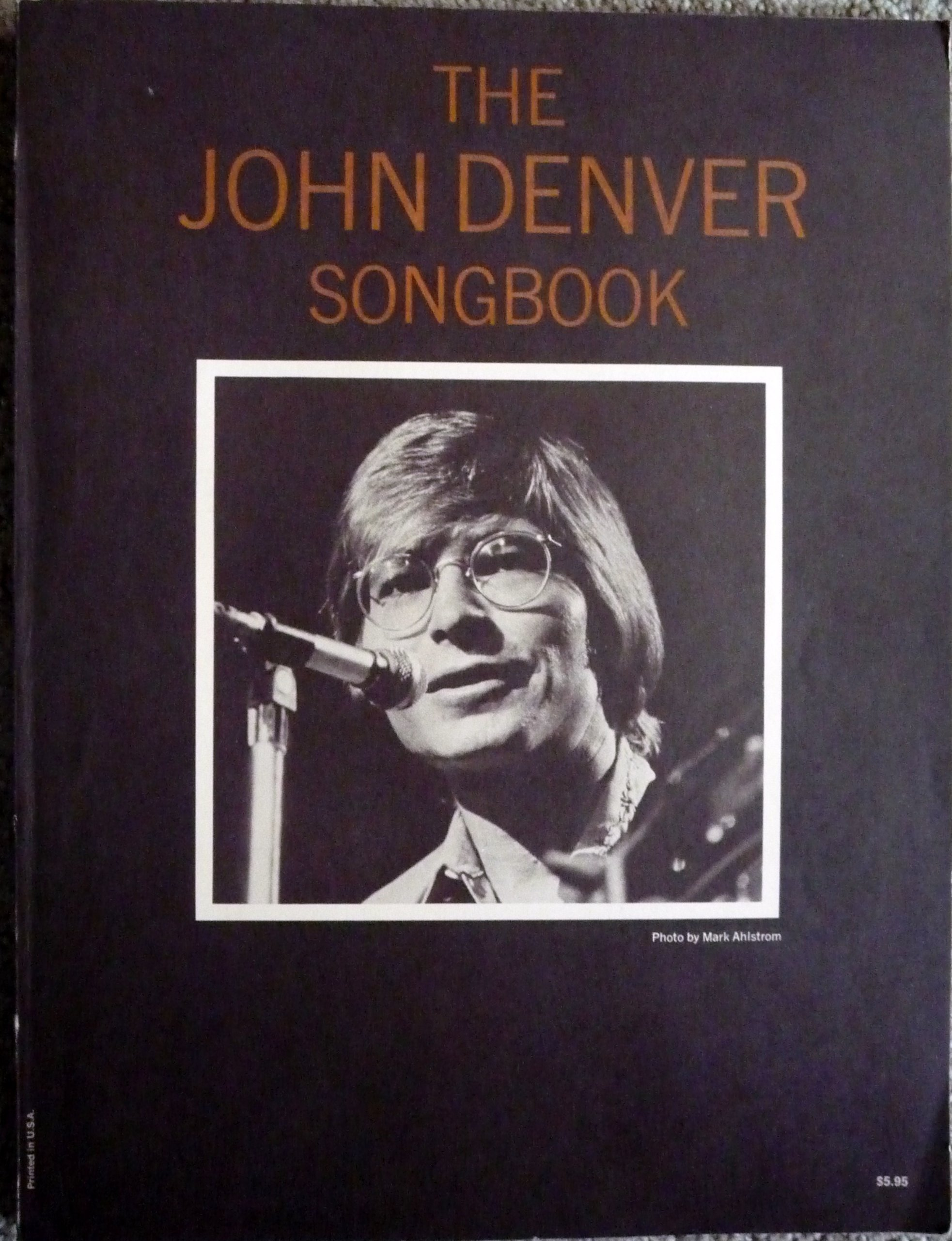 John Denver Songbook Piano Vocal Guitar All Guitar Strums And