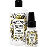 Poo Pourri Original 16-Ounce Refill Bottle and 1.4-Ounce Original