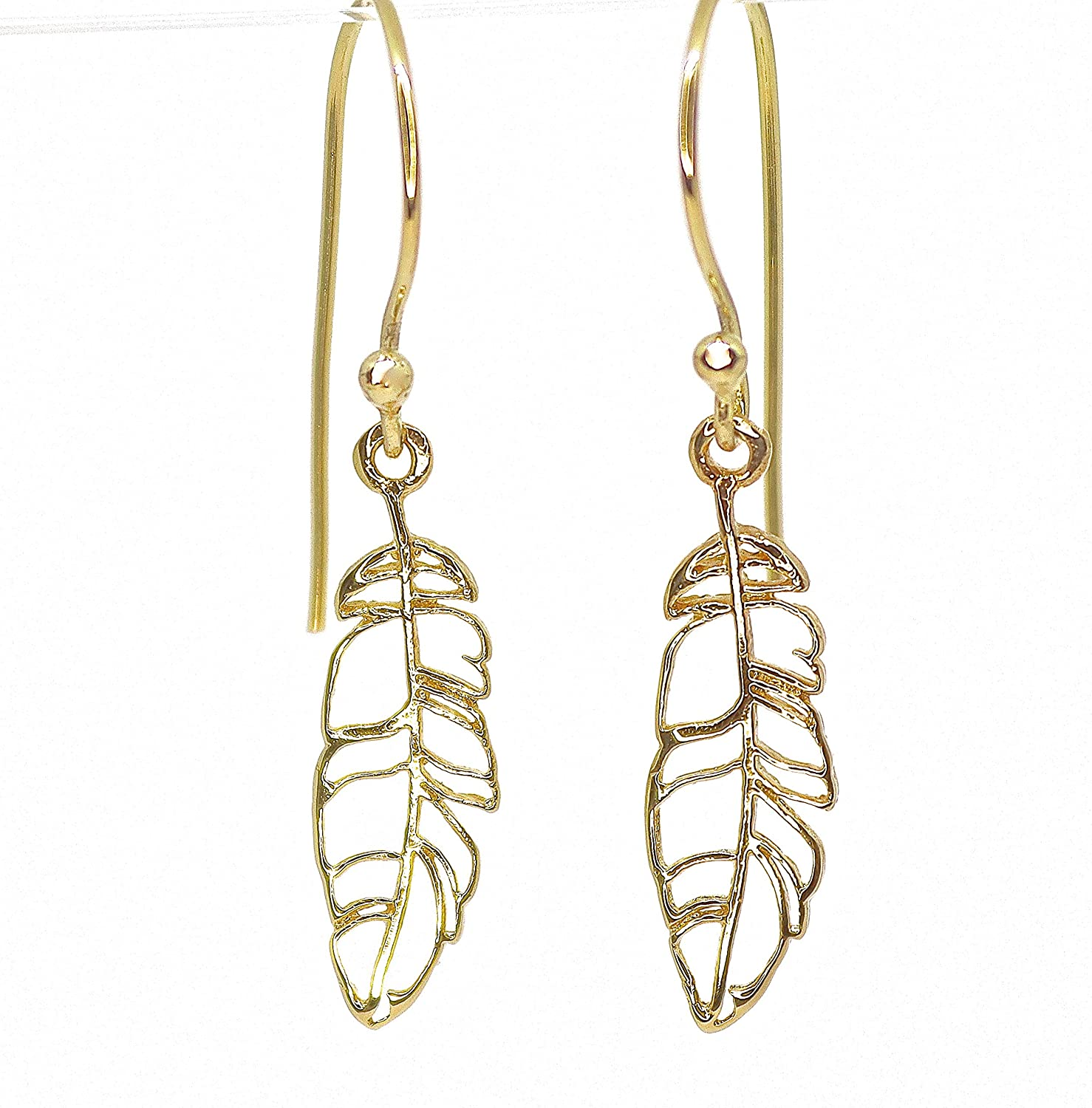 Cute gift Pretty and quirky Earrings feathers