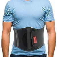 ORTONYX Ergonomic Umbilical Hernia Belt for Women and Men - Abdominal Support Binder...