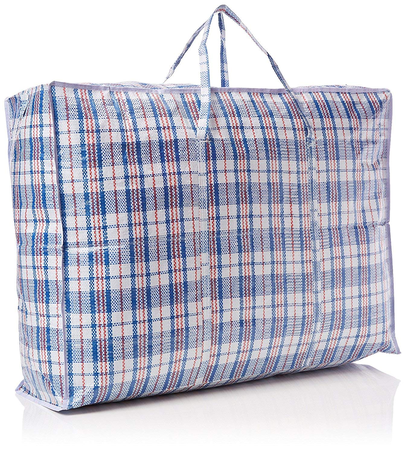 806025cm Mix Grids London Storage and Moving Bag Pack of 5